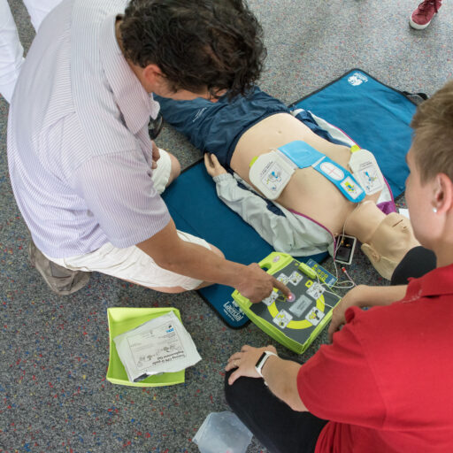 Passendes AED Gerät